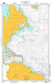 Nga Chart 13 North Atlantic Ocean Western Portion