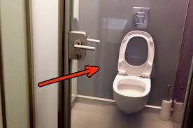public bathroom doors. Guy Enters Public Restroom With See-Through Toilet Doors, Then Wow! Bathroom Doors N