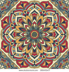 Pattern In Spanish Unique Vintage Ornamental Seamless Pattern Classic Spanish Stock Vector