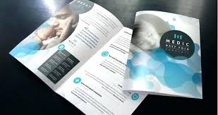 Templates For Brochures Free Download Double Fold Brochure Template Two Templates Free Download