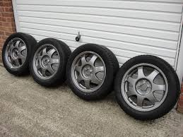 Toyota Prius Genuine Alloy Wheels - 2 Winter Tyres & 2 Summer ...