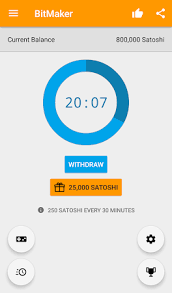 Claim your free satoshi from the faucet once every ~ 15 minutes. Bitmaker Free Bitcoin 4 0 17 Apk Free Tools Application Apk4now