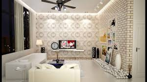 Wallpaper In Living Room Design Wallpaper For Small Living Room Bedroom Dining Room Ideas Youtube