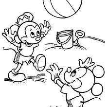 ballon de plage 28108 mickey mouse coloring pages 60 free disney printables for kids on mickey printable coloring pages