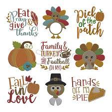 Mini Turkey Embroidery Design Fall Designs Kalde Bwong Co