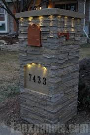stone mailbox designs. Beautiful Residential Mailboxes | Mailbox Design Photo Gallery Stone Designs