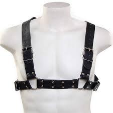 miiw bulldog leather harness mh1