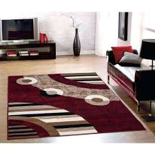 red living room area rug red area rugs rugs the home depot collection modern circles design red 7 ft in x 9 ft blue and red living room rugs