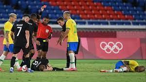 خطأ تحكيمي فادح لحكم مباراة البرازيل وألمانيا بالأولمبياد