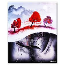 Easy Painting Five Easy Steps To Create Amazing Landscape Abstract Art Painting