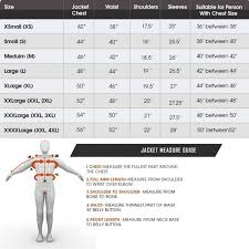 Jones Wear Size Chart Size Chart The Leather Makers