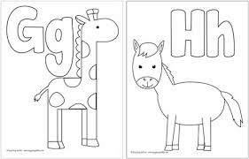 Free printable coloring pages are a nice alternative to modern day smart devices. Free Printable Alphabet Coloring Pages Easy Peasy And Fun