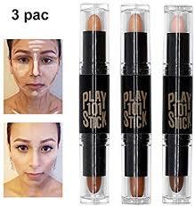 contour stick concealer contour highlighters stick face highlighters 6 colour make up concealer contouring stift makeup double end highlight contour