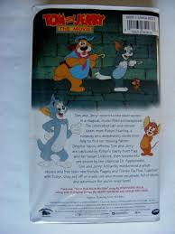 Tom and Jerry - The Movie (VHS, 1993) for sale online