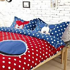 minnie mouse twin bed in a bag comforter mickey mouse bedding great mickey mouse king size