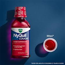 Nyquil Cough Suppressant Vicks