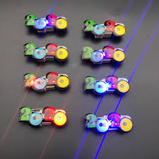 Christmas Brooches With Lights Glow In The Dark Led 2020 Light Up Brooches And Pins Christmas Party Decoration Party Favors New Year Party Props Badges Gifts
