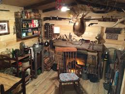 Amazing Rustic Cabin Man Cave Built in Basement for 107 Off Grid