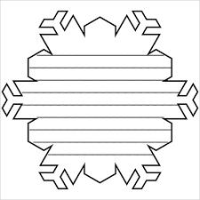 Snowflake Templates 49 Free Word Pdf Jpeg Png Format