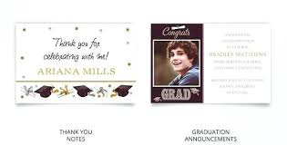 College Graduation Thank You Card Samples Note Letter Examples