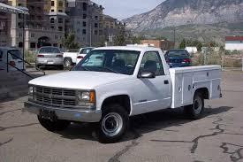 CNG Utah - 2000 Chevrolet 2500 Bi-Fuel Utility Bed