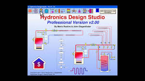 Hydronic Heating Design Software Intro To Hydronics Design Studio Software