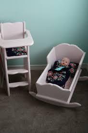 beingbrook ellie s doll highchair and cradle