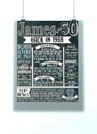 50th Birthday Decorations For Men Birthday For Him Birthday Ideas
