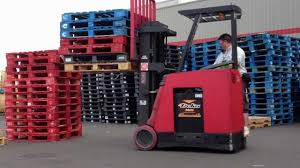 Driving My Forklift At Work Youtube