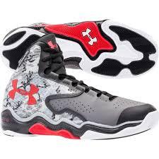 under armour shoes high tops black. under armour men\u0027s clutchfit lightning basketball shoe - grey/red | dick\u0027s sporting goods shoes high tops black