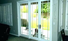 glass door insert installation replacing glass door change sliding glass door to french door cost home