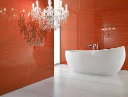 Red Bathroom Decor Bathroom Charming Red Bathroom Decor Ideas Presenting Stripe