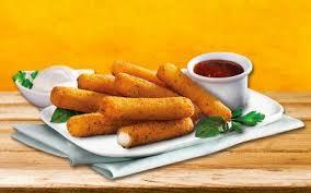 Low carb and keto friendly. Mozzarella Patties Le Duc Veggie Food