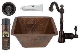Premier Copper Products Bsp4bs15fdb3 D Oil Rubbed Bronze Fleur De