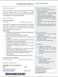 Property Manager Resume Sample Best Of Estate Manager Resume Resume