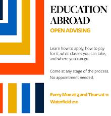 education abroad advising open advising