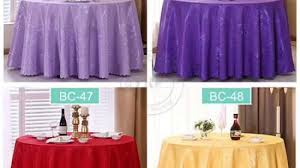china yrf wedding banquet fancy polyester overlay round table cloth china table cloth tablecloth