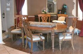 painted dining room furnitureMilk Paint Dining Room Table  Painted Furniture Before  After