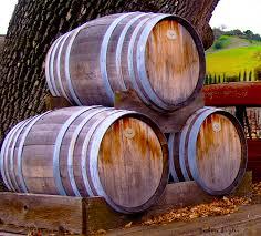 Barbara Snyder Digital Art - Old Wine Barrels On An Older Truck by Barbara  Snyder