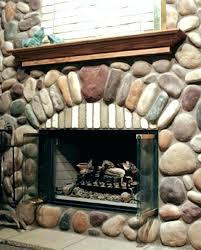 fireplace rock river enchanting stone veneer home depot corner ideas