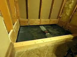 build a shower base shower pan curbs build a shower pan build shower pan curb shower