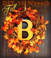 Fall Wreath 5 Diy Fall Wreath Autumn Pumpkin Leaves Fall Dollarcrafts