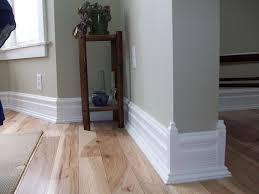 Decorating: Very Interesting Baseboard Molding With White Wall ...