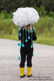 make a quick easy rain cloud costume for all ages