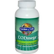 garden of life codmega wild fish cod liver oil complex 90 licaps iherb com