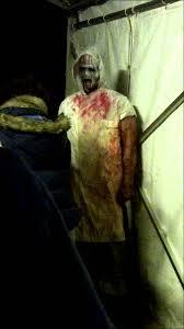 york maze hallowscream. hallowscream, york maze 2012 chainsaw clown :( hallowscream