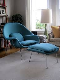 Saarinen Womb Chair and Ottoman by Knoll Original by MadsenModern,
