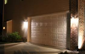 image of outdoor garage lighting ideas