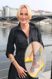 Jaké Tetování Má Alice Bendová či Dara Rolins A Kde Podívejte Se