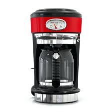 red coffee maker retro style 8 cup coffeemaker red stainless steel red coffee maker red red coffee maker